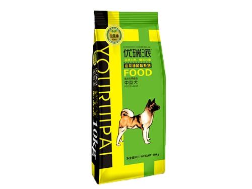 优瑞派中型犬成犬粮 山茶油风味系列