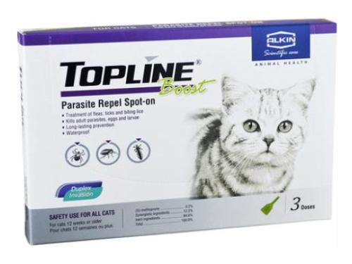 英国埃尔金蚤立安外寄生虫滴剂(猫用长效型)