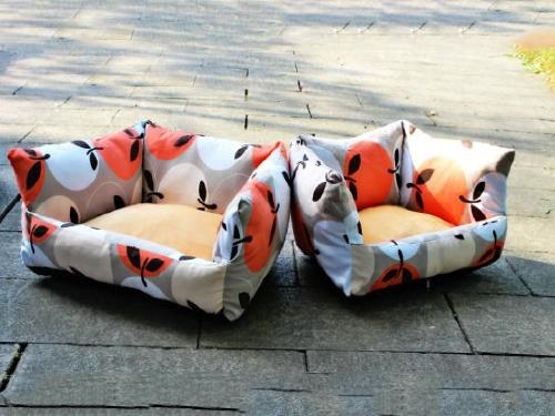 水果橙色宠物沙发窝