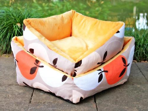 水果橙色宠物窝
