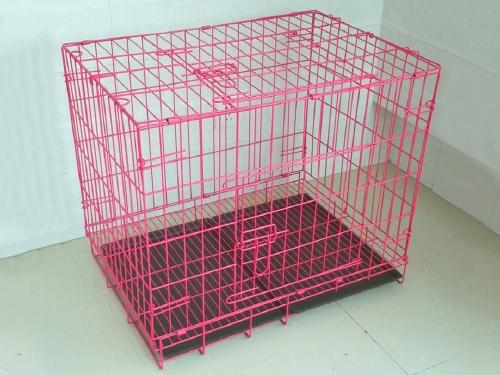 优质折叠笼(粉 蓝)