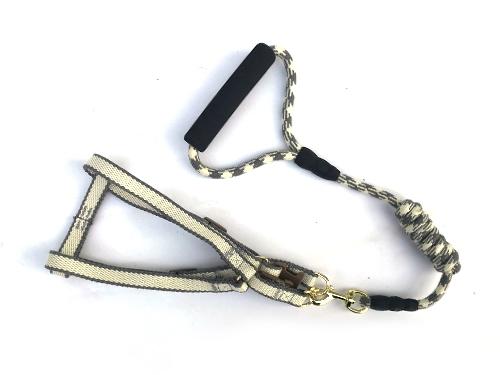 欧式田园圆绳胸背牵引带